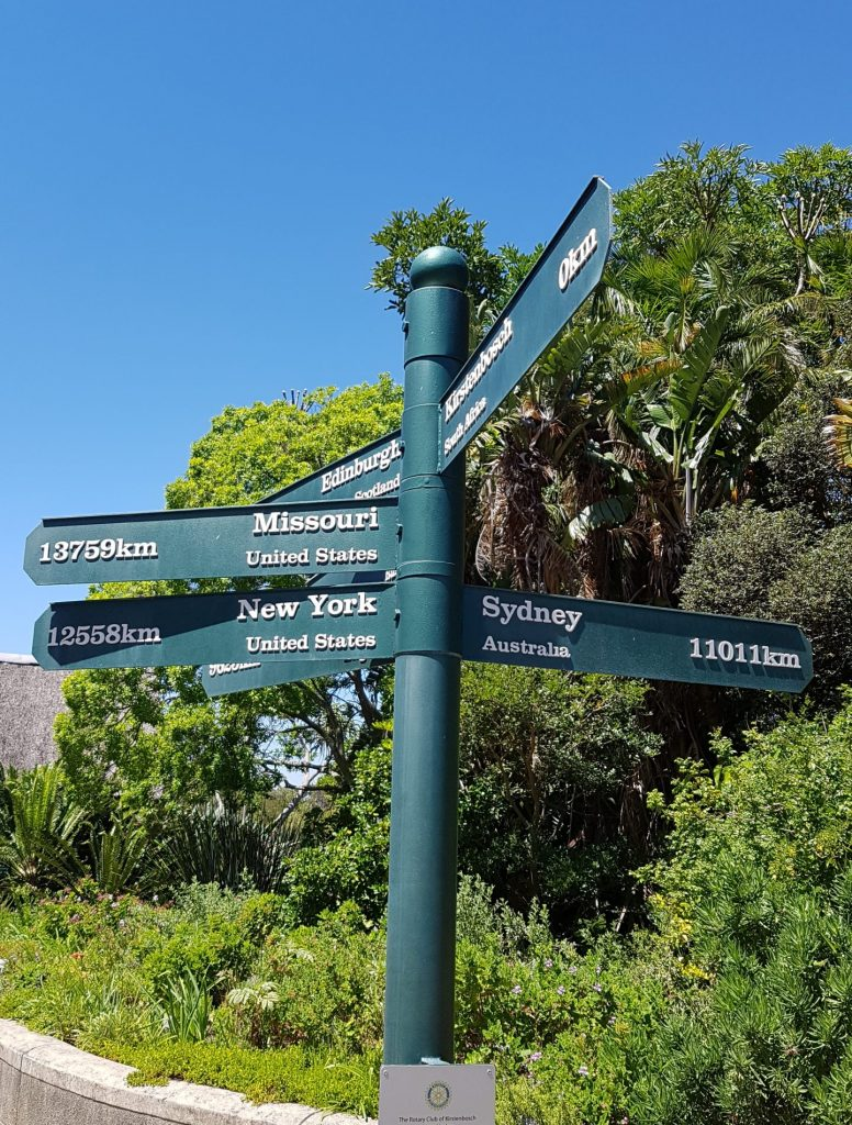 Cape Town Sign Posts